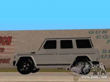 Mercedes-Benz G65 AMG 2012 for GTA San Andreas left view