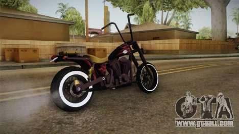 GTA 5 Western Daemon for GTA San Andreas back left view