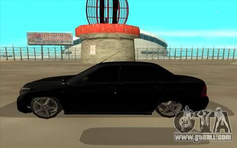 Lada Priora Land Cruiser for GTA San Andreas left view