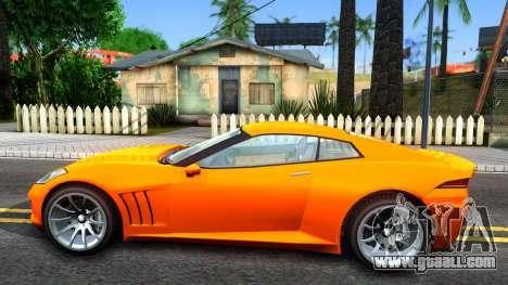 Invetero Coquette GTA V ImVehFt for GTA San Andreas left view