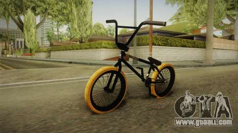 BMX Poland 2 for GTA San Andreas back left view