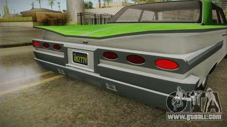 GTA 5 Declasse Voodoo 4-door IVF for GTA San Andreas side view