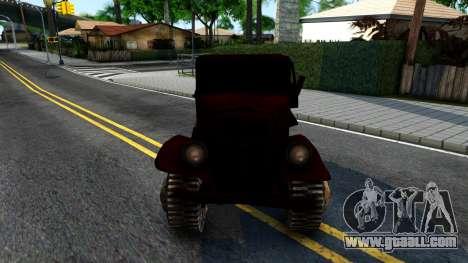 Broken Military Truck for GTA San Andreas inner view