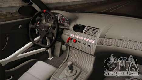 BMW M3 E46 2005 NFS: MW Livery for GTA San Andreas interior
