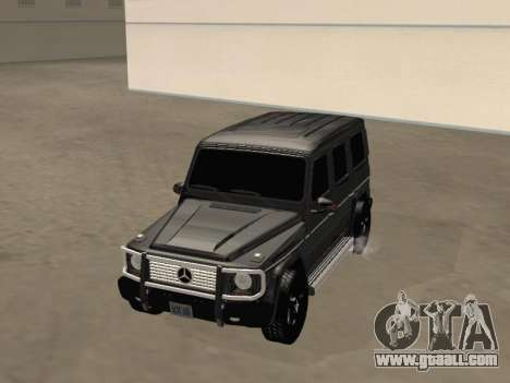 Mercedes-Benz G65 AMG 2012 for GTA San Andreas right view
