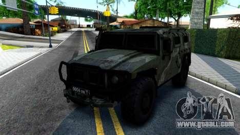 GAZ Tiger 2330 for GTA San Andreas