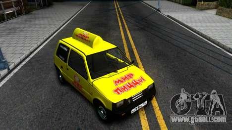 """VAZ 1111 """"Oka"""" World Pizza for GTA San Andreas"""
