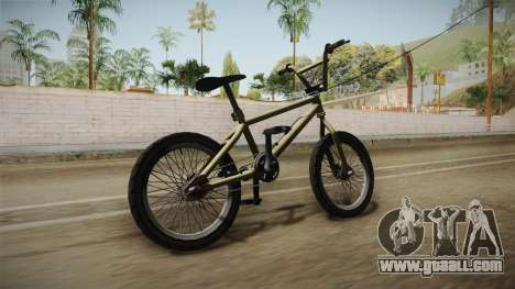 GTA 5 BMX for GTA San Andreas right view