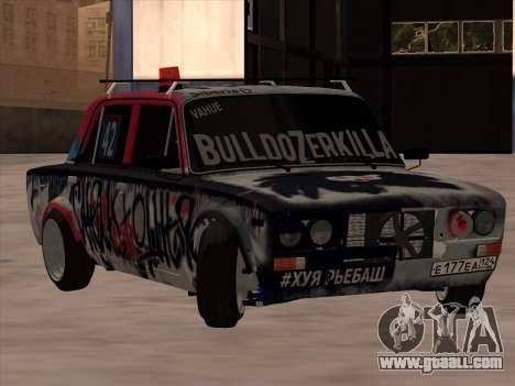 VAZ 2106 BuldozerKilla for GTA San Andreas