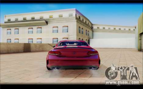 Mersedes-Benz C63 Coupe Tuning for GTA San Andreas right view