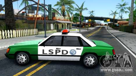 LSPD Police Car for GTA San Andreas left view