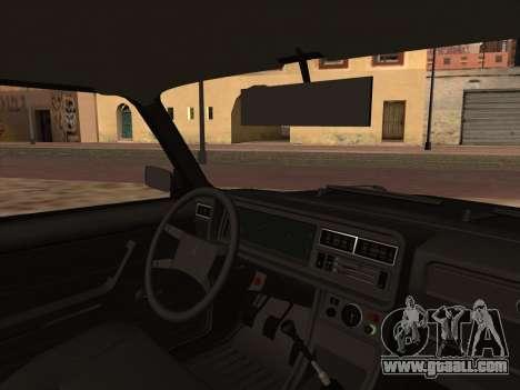 Sheriff HUNTER 2107 for GTA San Andreas back left view