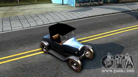Bolt Ace Runabout for GTA San Andreas right view