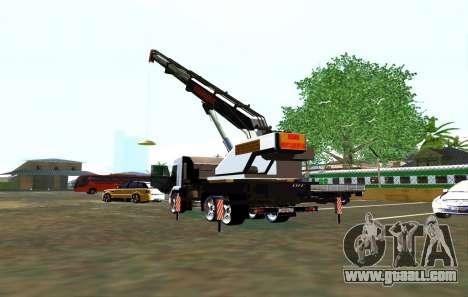 KamAZ 65117 Ivanovic for GTA San Andreas right view
