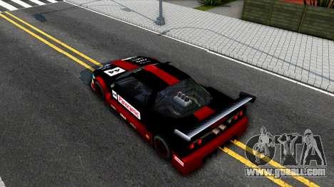 Infernus GT2 for GTA San Andreas back view
