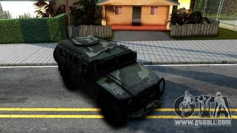 GAZ Tiger 2330 for GTA San Andreas right view