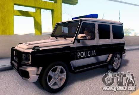 Mercedes-Benz G65 AMG BIH Police Car for GTA San Andreas