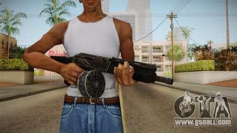 Saiga-12K for GTA San Andreas third screenshot