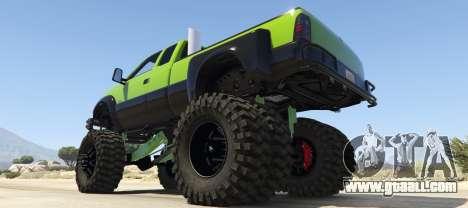 GTA 5 Sandking HD Monster Dually left side view