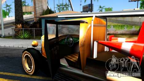 Bolt Utility Truck From Mafia for GTA San Andreas inner view