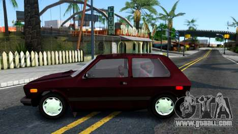 Yugo Koral 45A for GTA San Andreas left view