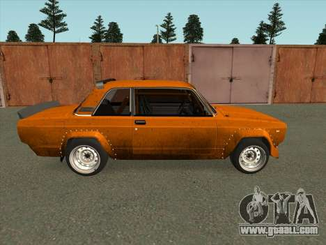 VAZ 2105 VFTS for GTA San Andreas left view