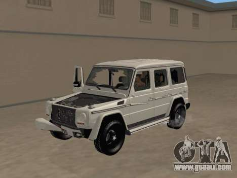 Mercedes-Benz G65 AMG 2012 for GTA San Andreas back view