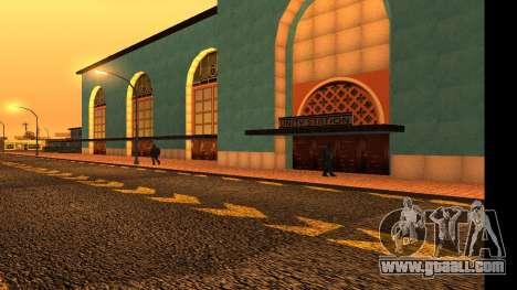 Uniy Station HD for GTA San Andreas fifth screenshot