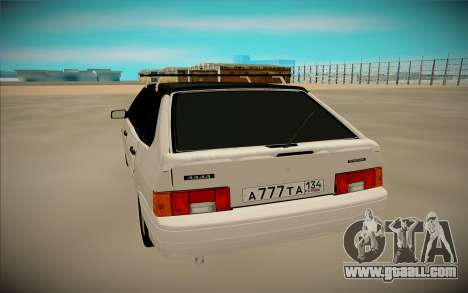 VAZ 2114 for GTA San Andreas right view