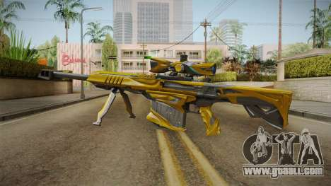 Cross Fire - M82A1 Iron Shark Noble Gold for GTA San Andreas second screenshot