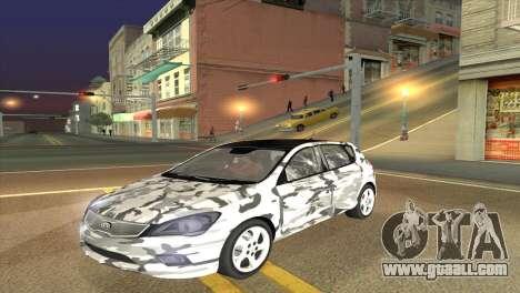 KIA Ceed 1.4 CVVT 2009 for GTA San Andreas