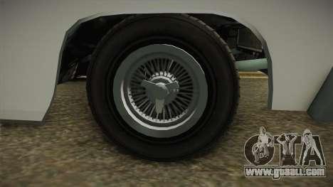 GTA 5 Declasse Voodoo 4-door IVF for GTA San Andreas back view