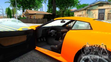 Invetero Coquette GTA V ImVehFt for GTA San Andreas inner view
