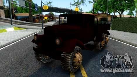 Broken Military Truck for GTA San Andreas