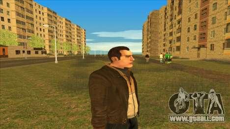 Clean shaven Nico for GTA San Andreas second screenshot