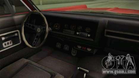 GTA 5 Vapid Chino Continental for GTA San Andreas back view