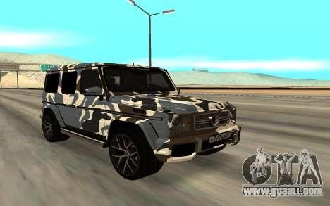 Mercedes-Benz G63 AMG for GTA San Andreas