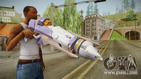 Overwatch 9 - Pharahs Rocket Launcher for GTA San Andreas
