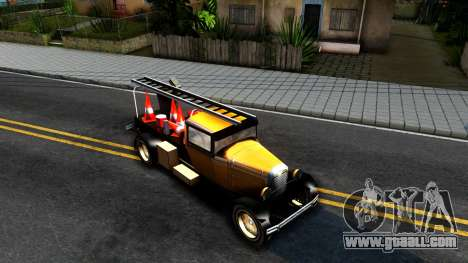 Bolt Utility Truck From Mafia for GTA San Andreas right view