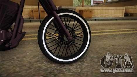 GTA 5 Western Daemon for GTA San Andreas back view