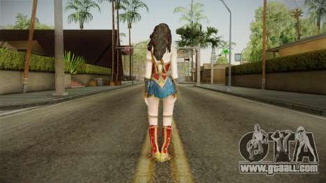 Wonder Woman Gal Gadot for GTA San Andreas third screenshot