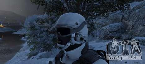 GTA 5 Flat Snow Camo second screenshot
