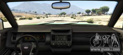 GTA 5 Sandking HD Monster Dually rear left side view