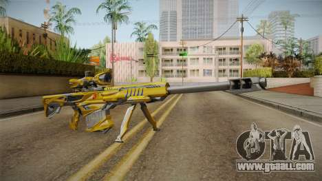 Cross Fire - M82A1 Iron Shark Noble Gold for GTA San Andreas