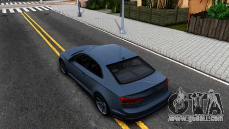 Audi S5 2017 for GTA San Andreas back view