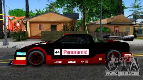 Infernus GT2 for GTA San Andreas left view