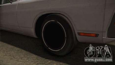 Dodge Polara 1971 Factory Wheel for GTA San Andreas back view