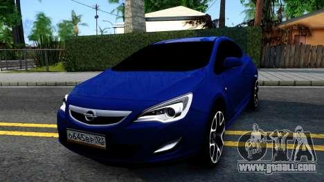 Opel Astra GTC for GTA San Andreas