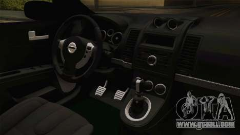 Nissan Altima 2009 Standard for GTA San Andreas inner view