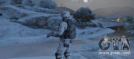 GTA 5 Flat Snow Camo third screenshot
